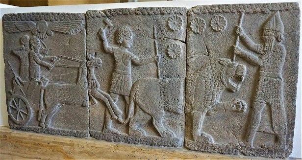 Lion Hunting Scene - 750 BC