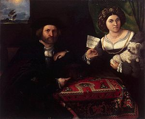 Lorenzo Lotto - Husband and Wife - WGA13682