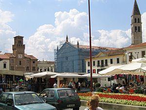 Oderzo piazzagrande mercato