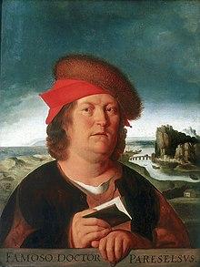 Paracelse par Quentin Metsys, huile sur bois, musée du Louvre