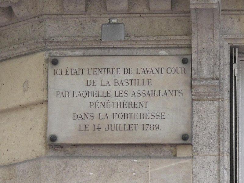 File:Plaque Bastille rue Saint-Antoine.jpg
