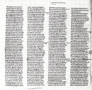 Codex Sinaiticus(c. 350) contains the oldest c...