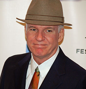 Steve Martin at the premiere of Baby Mama in N...