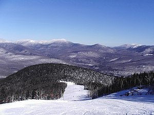 English: The beautiful Sunday River Ski Resort...