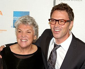 English: Tyne Daly and her brother Tim Daly at...