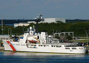 U.S. Coast Guard cutter USCGC Vigilant (WMEC-617).