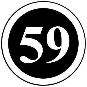 English: 59 Club logo.