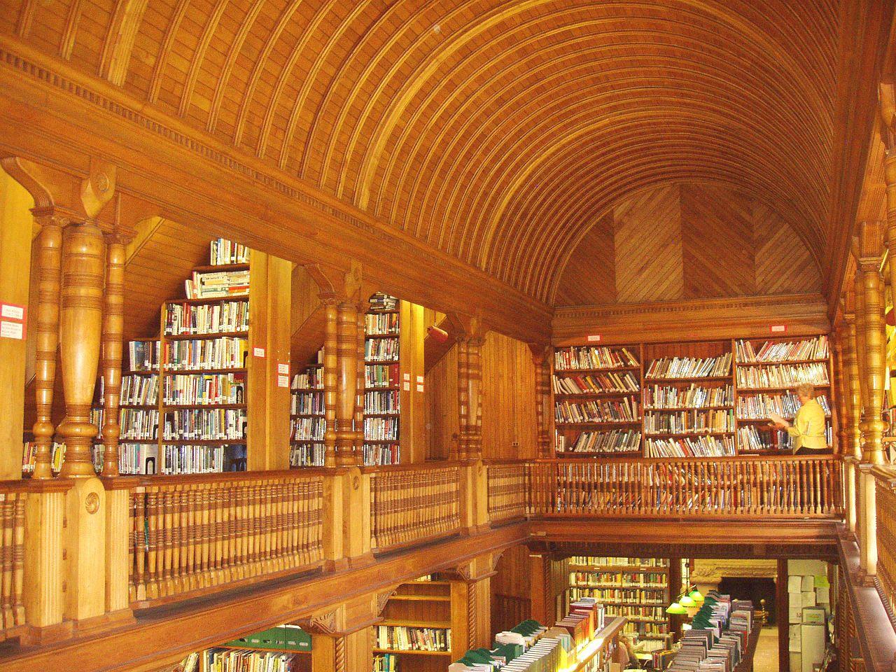 FileAmes Free Library North Easton MA Interior