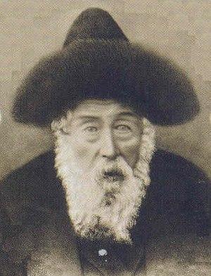 Rabbi Avraham Mattisyahu of Shtefanesht, (1847...