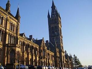 English: Glasgow University