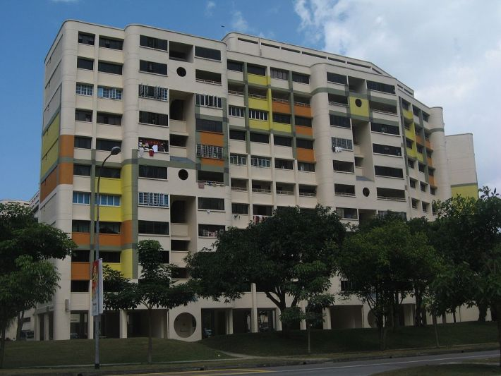 83% of Singaporeans live in Government Housing as pictured above