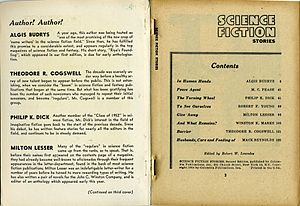 Inside Front Cover and Table Of Contents, Scie...
