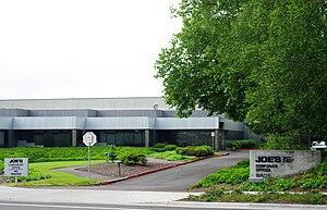 English: Joe's company headquarters in Wilsonv...