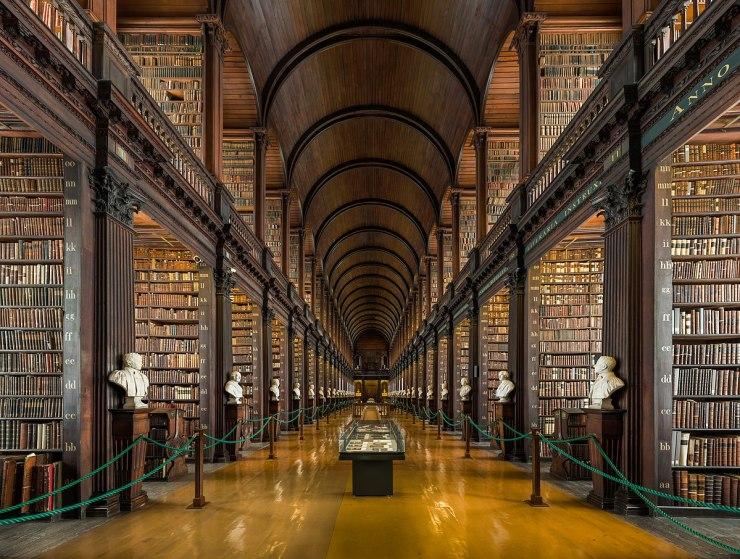 Výsledek obrázku pro trinity college library dublin