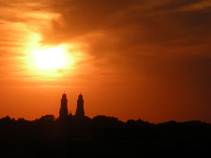 I took this photo of an Omaha sunset in 2008