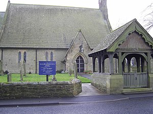 English: Parish Church of St John Acklington