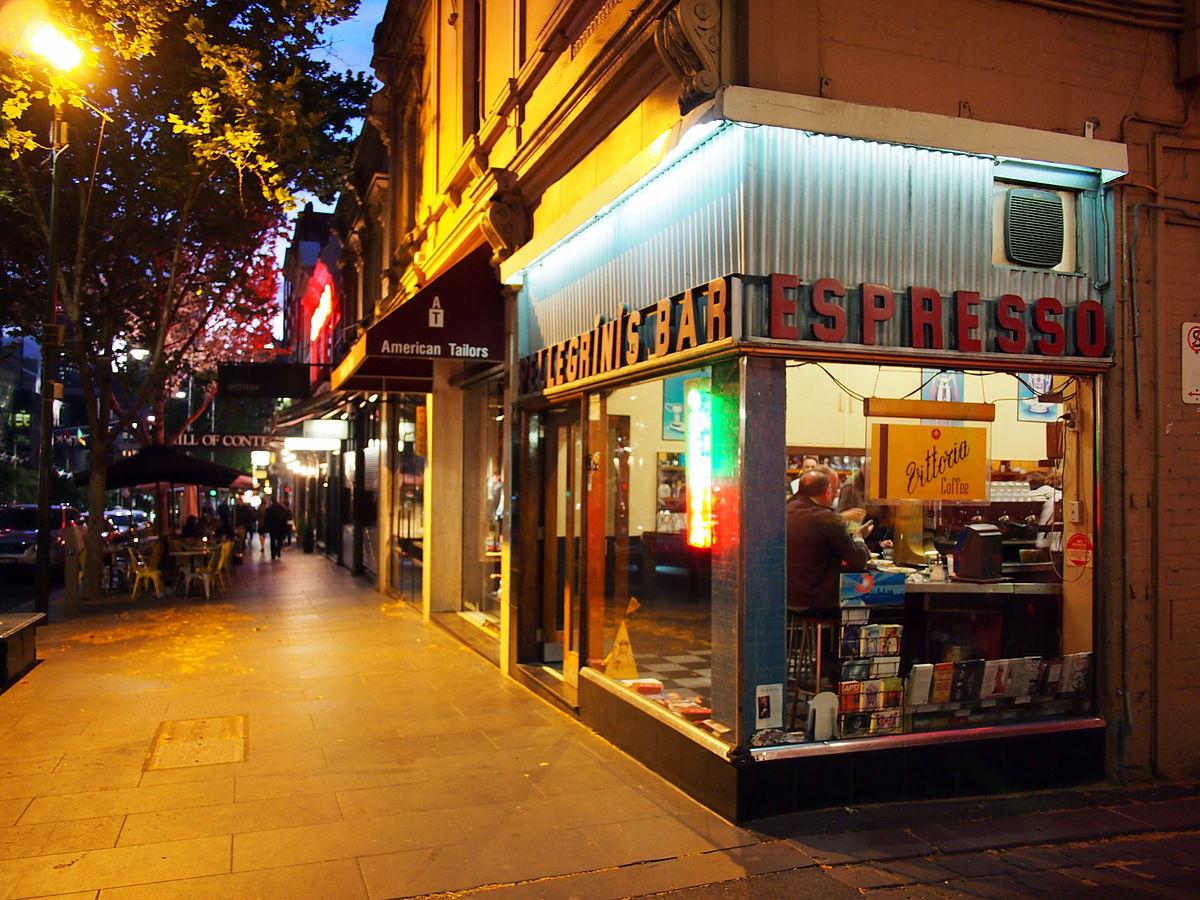 Pellegrini S Espresso Bar Wikipedia