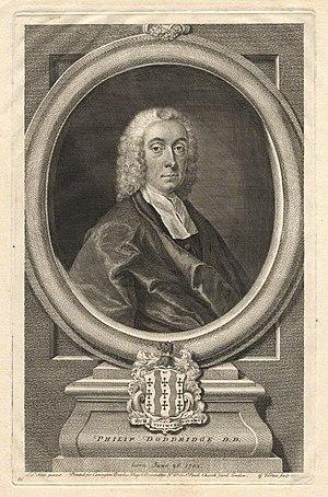 English: Philip Doddridge (1702-1751)