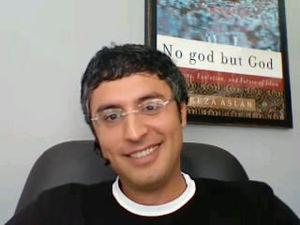 English: Reza Aslan Image source is a screen s...