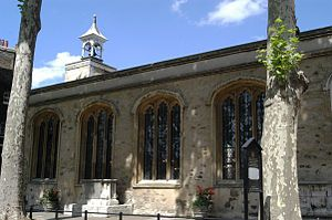 St. Peter's chapel, Tower of London (burial pl...
