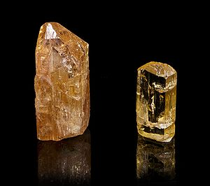 English: Imperial Topaz :: Locality : Vermelhã...