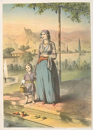 English: Turkish Woman (Unveiled) (1862)