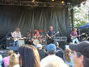 Canadian rock band April Wine in concert at th...