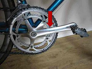 crank as a part of a bycicle