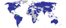 Misiones diplomáticas de Venezuela.