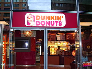 Deutsch: Dunkin Donuts in Berlin