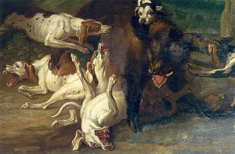 Jean-BaptisteOudryWildschweinjagd