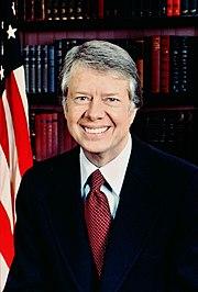 Jimmy Carter, 39° presidente degli Stati Uniti, immagine di dominio pubblico.