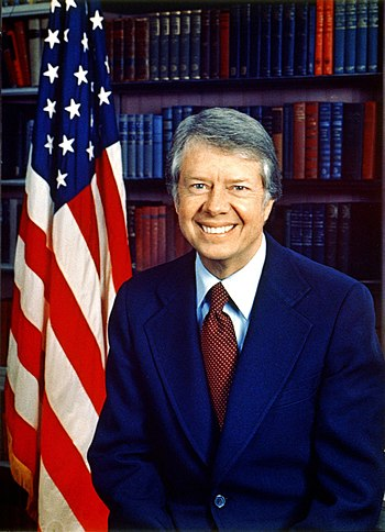 Jimmy Carter, former President of the United S...