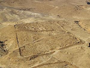 Roman legionary (X Fretensis) castra at Masada...
