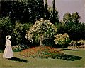 Monet, Claude - Woman in the Garden. Sainte-Adresse.jpg