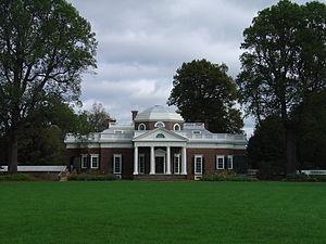 Monticello west lawn