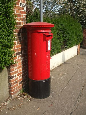 English: Nice old postbox