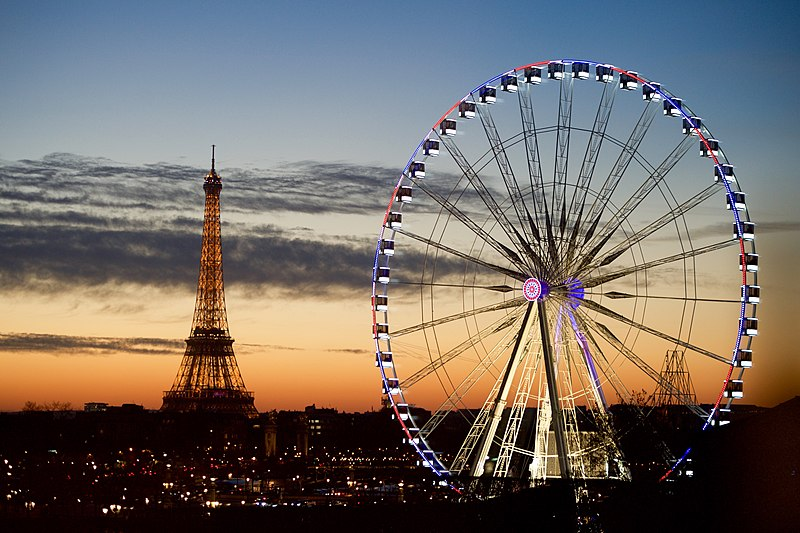 File:The Eiffel Tower and Ferris Wheel on the Place de la Concorde as Seen from Secretary Kerry's Hotel in Paris (23507894221).jpg