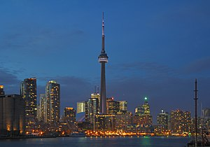 Skyline of Toronto
