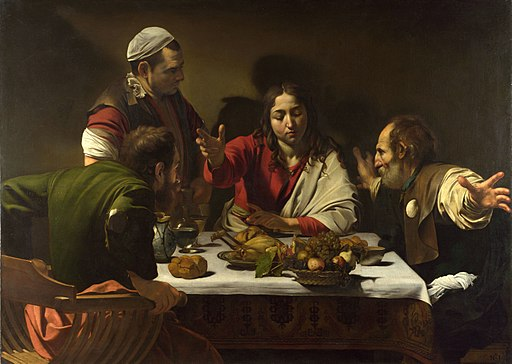 Caravaggio,Supper at Emmaus