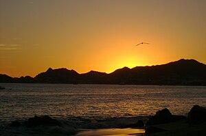 Español: Atardecer en Cabo San Lucas