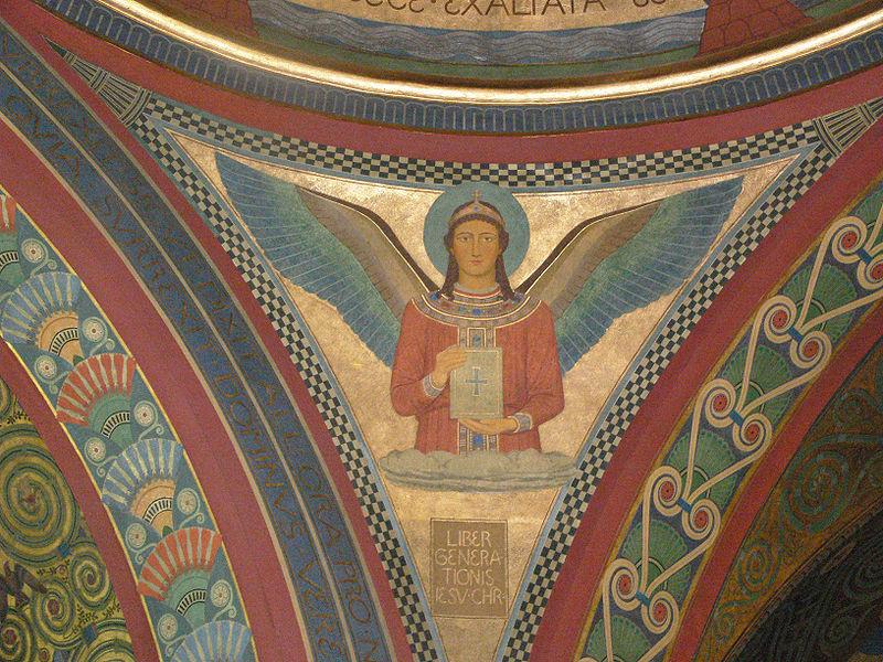 File:Beuron Gnadenkapelle Evangelistensymbol Matthäus.jpg