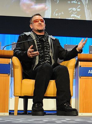 Bono at The World Economic Forum, 2008