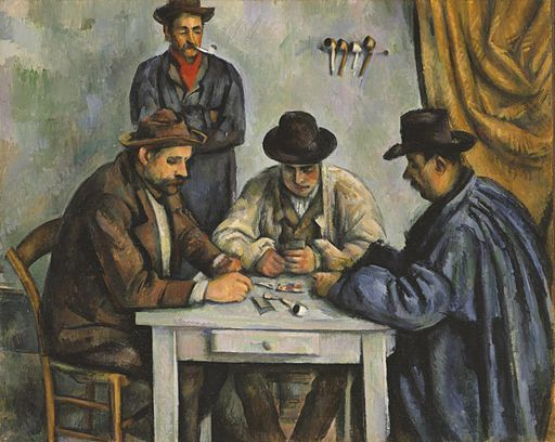 """The Card Players"" by Paul Cézanne"