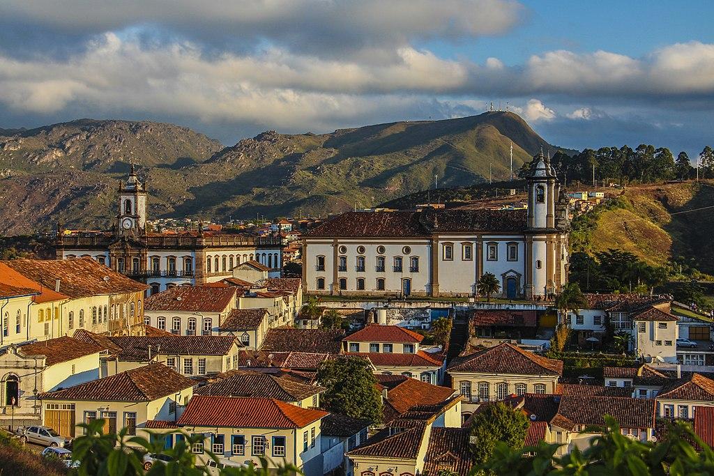 UNESCO World Heritage Sights Ourto Preto