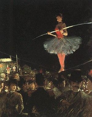 The Tightrope Walker Deutsch: Die Seiltänzerin