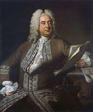 George Frideric Handel, born in the same year ...