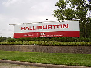 Halliburton's North Belt Office, which contain...