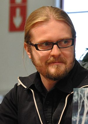English: Finnish writer Marko Hautala at the T...