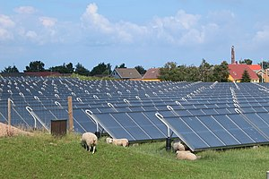 Marstal Solar power plants, have a area of 18,...